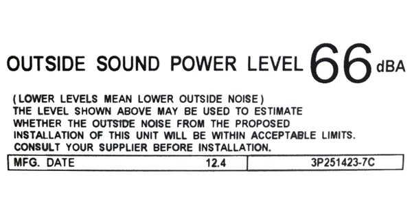 Noise & planning requirements