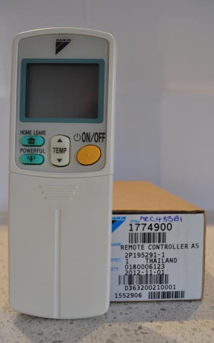 Daikin ARC433B1 Remote Control