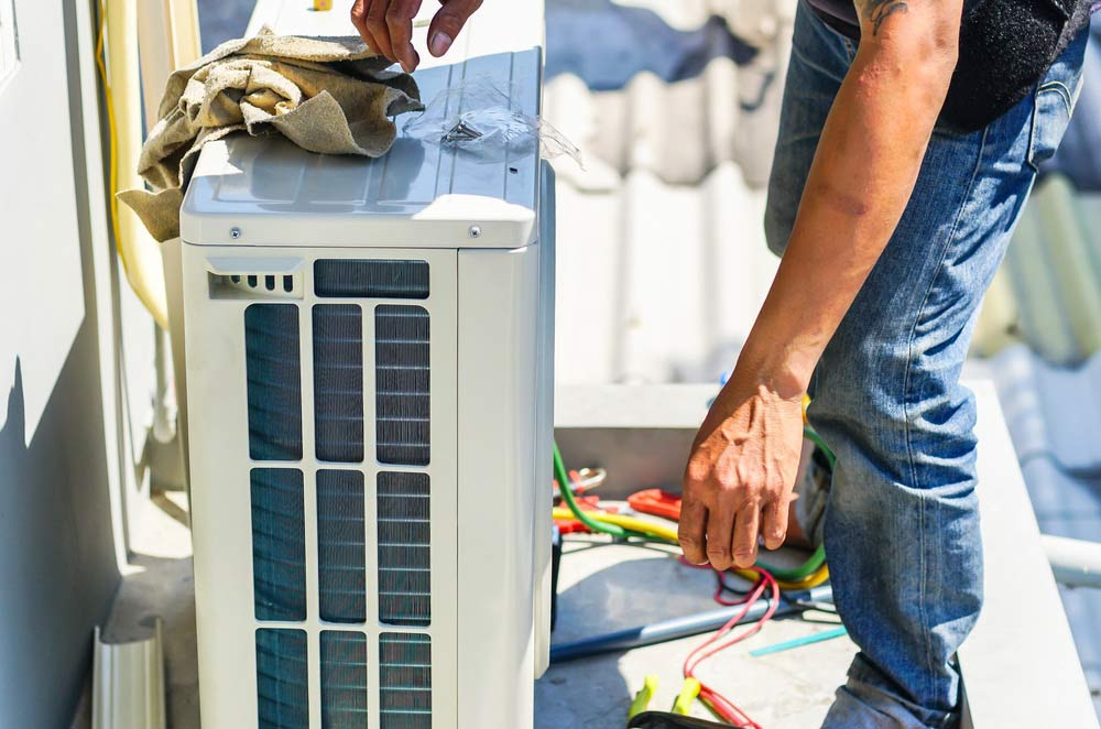 ducted air conditioning install price