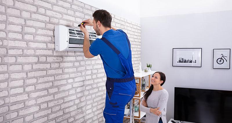 split system air conditioner installation
